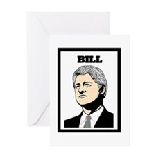 BILL CLINTON Greeting Card