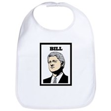 BILL CLINTON Bib