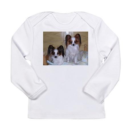 Papillions! Long Sleeve Infant T-Shirt