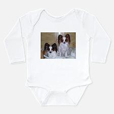 Papillions! Long Sleeve Infant Bodysuit
