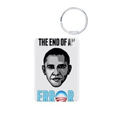OBAMA THE END OF AN ERROR 2013 Keychains