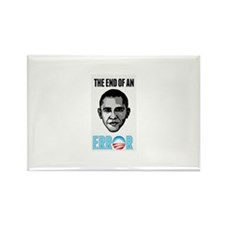 OBAMA THE END OF AN ERROR 2013 Rectangle Magnet