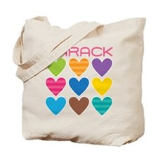Barack Hearts Tote Bag