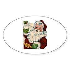Vintage Santa Claus Decal