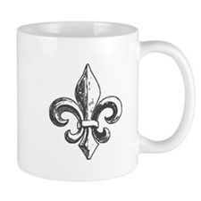 NOLA fleur de lis Saints Mug