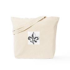 NOLA fleur de lis Saints Tote Bag