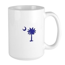 South Carolina Palm Tree State Flag Mug