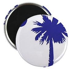 South Carolina Palm Tree State Flag Magnet