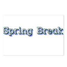 Spring Break Postcards (Package of 8)