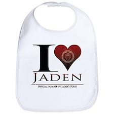 I Heart Jaden Bib