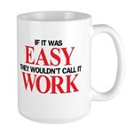 Left-handed Easy Work Large Mug