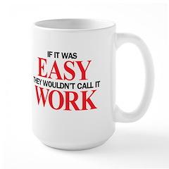 Left-handed Easy Work Mug