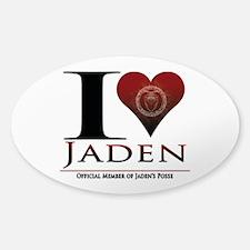 I Heart Jaden Decal