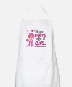 Fights Like a Girl 42.9 Breast Cancer Apron