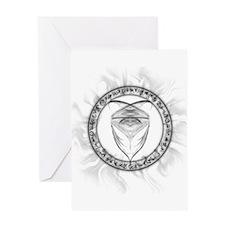 Jaden Symbol Greeting Card