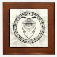 Jaden Symbol Framed Tile