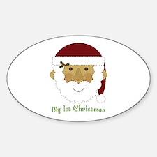 1st Christmas Santa Decal
