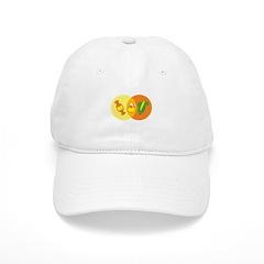 Candy Corn Venn Baseball Cap