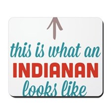 Indianan Looks Like Mousepad