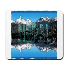 nepal mount everest art illustration Mousepad
