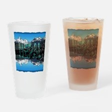 nepal mount everest art illustration Drinking Glas