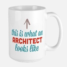 Architect Looks Like Large Mug