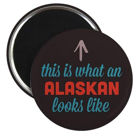 Alaskan Looks Like Magnet