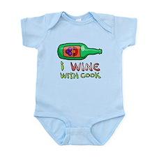 Wine Cook Infant Bodysuit