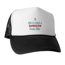 Surgeon Looks Like Hat