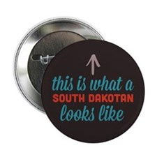 "South Dakotan Looks Like 2.25"" Button"