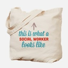 Social Worker Looks Like Tote Bag