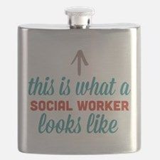 Social Worker Looks Like Flask