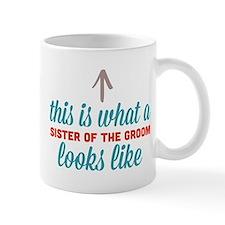 Sister Of The Groom Small Mug