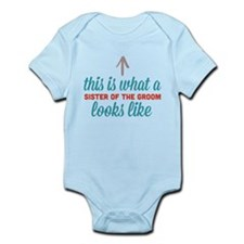Sister Of The Groom Infant Bodysuit