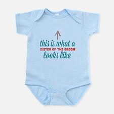 Sister Of The Groom Infant Bodysuit