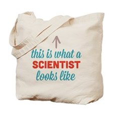 Scientist Looks Like Tote Bag