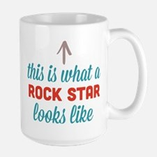 Rock Star Looks Like Mug