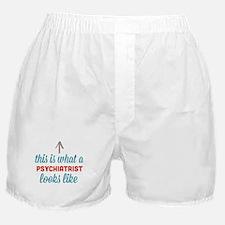 Psychiatrist Looks Like Boxer Shorts