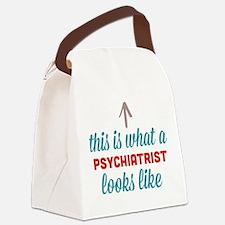 Psychiatrist Looks Like Canvas Lunch Bag