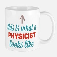 Physicist Looks Like Mug