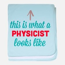 Physicist Looks Like baby blanket