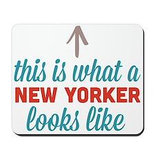 New Yorker Looks Like Mousepad