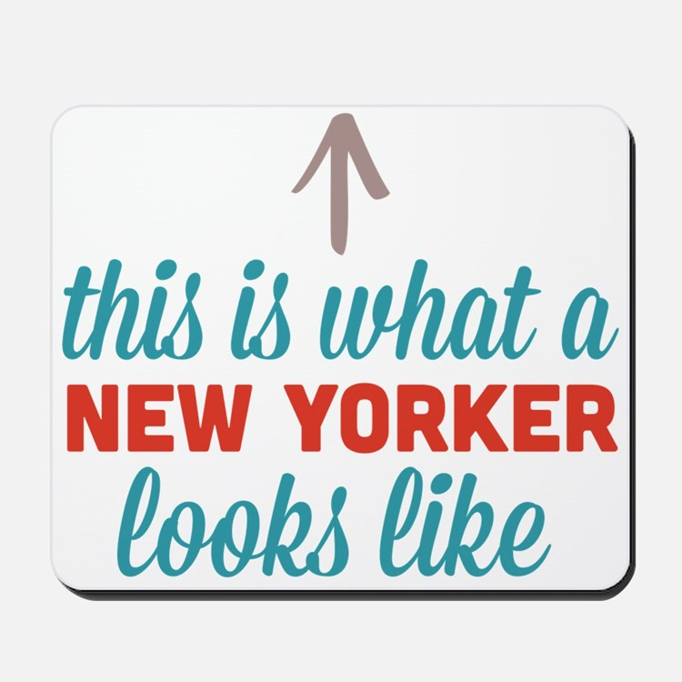 New Yorker Looks Like Mousepad
