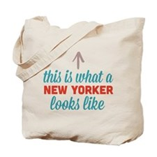 New Yorker Looks Like Tote Bag