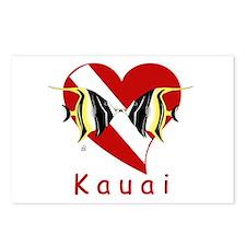 Kauai Dive Postcards (Package of 8)