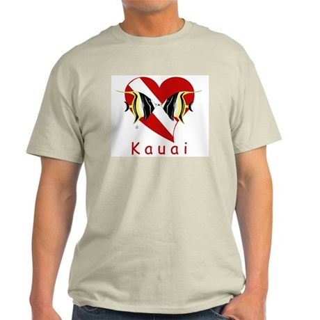 Kauai Dive Ash Grey T-Shirt