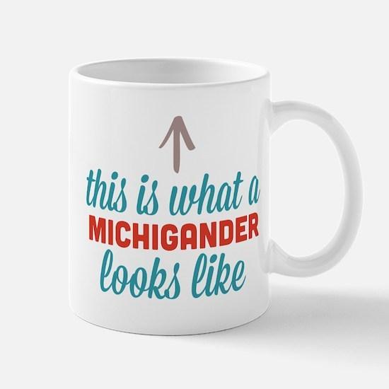 Michigander Looks Like Mug