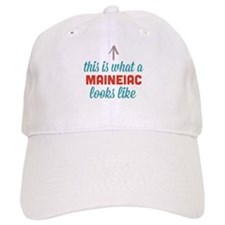 Maineiac Looks Like Baseball Baseball Cap