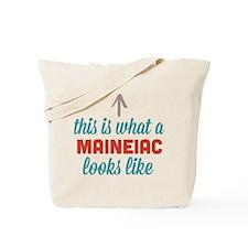 Maineiac Looks Like Tote Bag