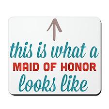 Maid Of Honor Looks Like Mousepad
